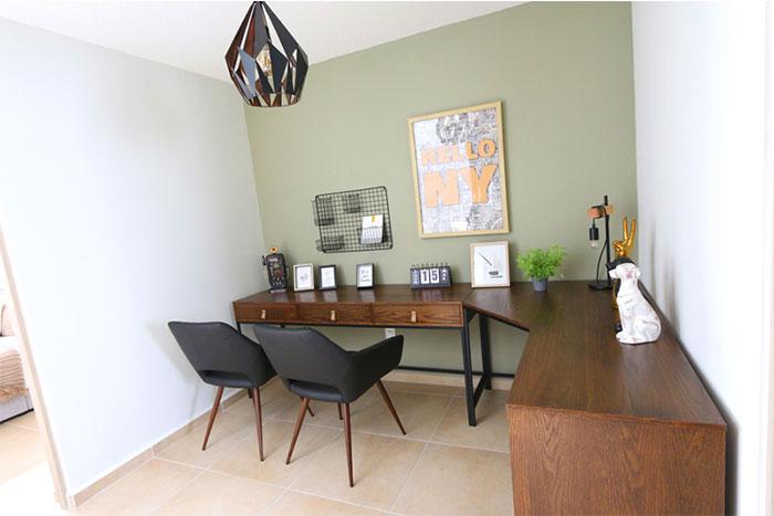 Área Home Office Casa modelo Fresno B Privadas del Bosque
