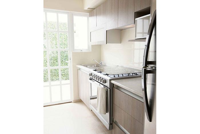 Cocina casa modelo Encino Privadas del Bosque