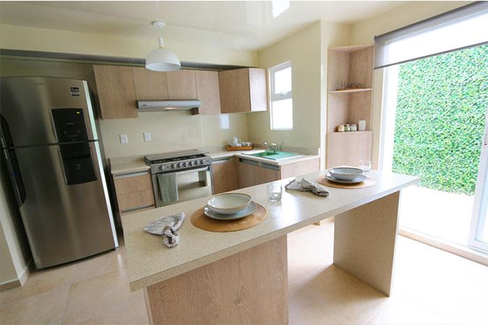 Cocina Casa modelo Fresno B Privadas del Bosque
