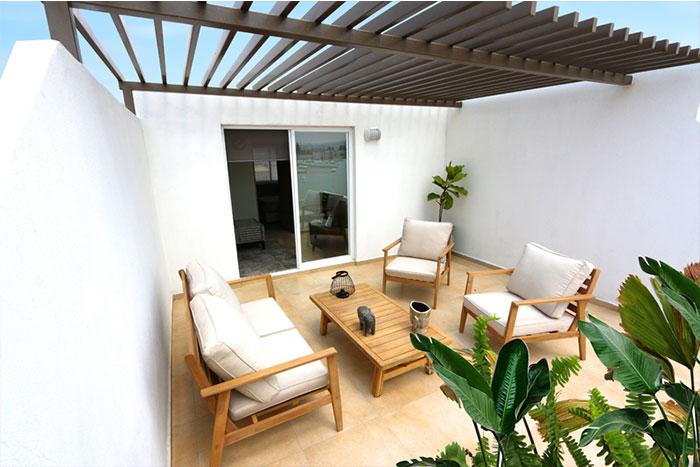 Roof Garden Casa modelo Fresno B Privadas del Bosque